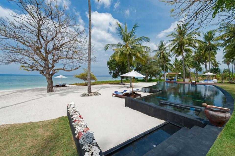 Luxury Beachfront Lombok Wedding Villa, Villa Sapi